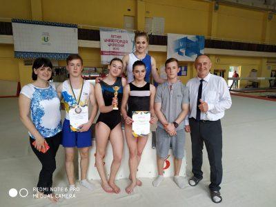XIV Універсіада України зі спортивної гімнастики